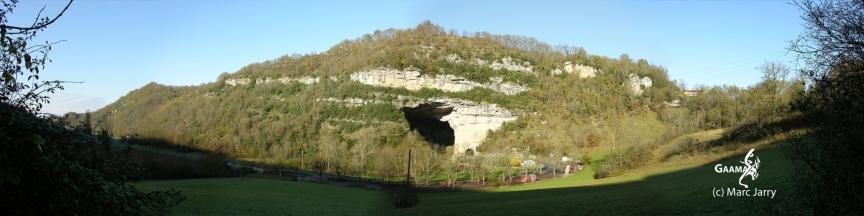 La grotte du Mas d'Azil, décor naturel du film (c)GAAMA