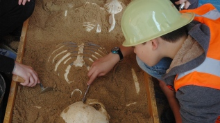 Atelier fouilles archéologiques à la DRAC Occitanie JNA 2016 G&A 2016
