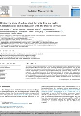 Dosimetric study of sediments at the beta dose rate scale: Chara