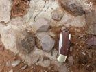 Une industrie lithique Middle Stone Age associée à la brèche (c)MJ.
