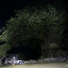 Premier campement dans les Aha Hills (c)MJ.