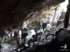 Coté Botwana, une belle grotte. Il ne reste plus qu'à trouver la même chose coté namibien (c)MJ.