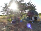 Campement dans les collines coté Botswanais (c)MJ