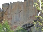 Peintures rupestres dans les Tsodilo Hills (c)MJ.