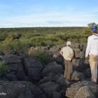 Relief karstique du secteur de Gam au sud des Aha Hills en Namibie (c)LB.