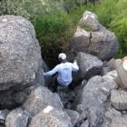 Relief karstique du secteur de Gam au sud des Aha Hills en Namibie (c)MJ.