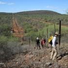 Au cœur des Aha Hills, le long de la frontière avec le Botswana (c)LB.