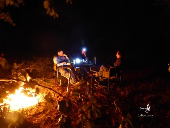 Namibie, Aha Hills, premier camp au pied de la colline du Léopard (c) M. Jarry