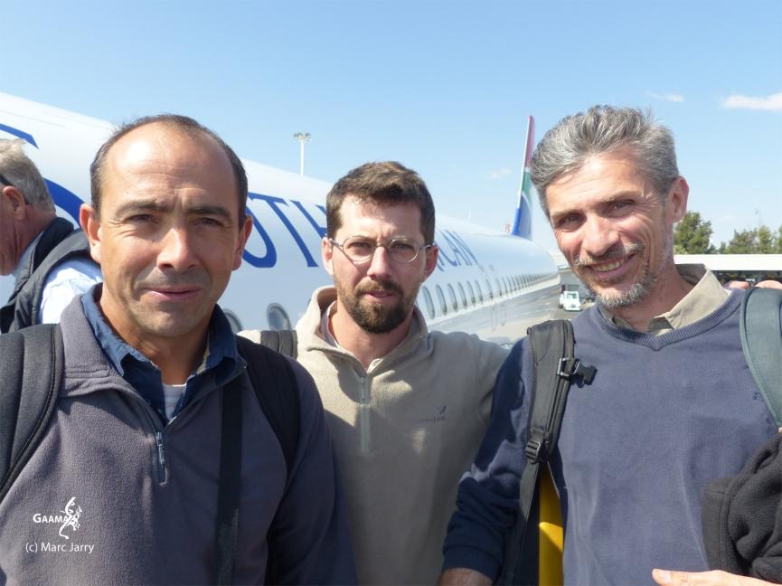 Namibie, l'équipe sur le départ (c) G. Cerez