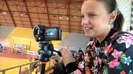 Séance de tournage avec l'AJCA (c)AJCA