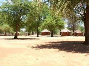Namibie, Aha Hills, dernier village... (c) F. Duranthon.