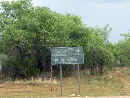 Namibie, retour vers Tsumkwe (c) M. Jarry.