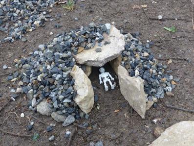 """Atelier jeune public """"Construire ton dolmen"""" G&A 2017"""