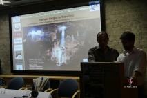 Conférence de l'équipe au Centre Culturel Franco-Namibien (c) M. Jarry