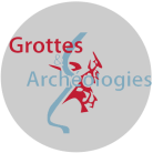 Logo trans rond Grottes Archéologies