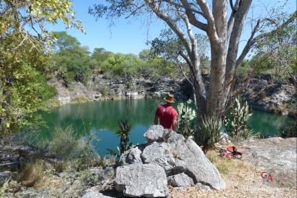 Cénote de la région de Tsumeb (c) Grégory Dandurand