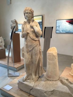 Captive hispanique du trophée de Saint-Betrand-de-Comminges, conservée au musée archéologique départemental de Saint-Betrand-de-Comminges © C. Molinié